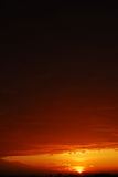 Sonnenaufgang lizenzfreies stockbild