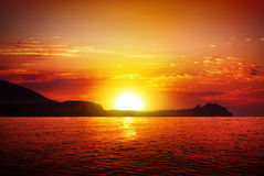 Sonnenaufgang Stockfoto