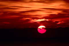 Sonnenaufgang. Stockbilder