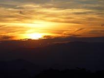 Sonnenaufgang stockbild