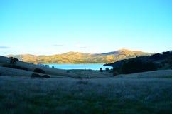 Sonnenaufgang in Akaroa Lizenzfreie Stockfotos