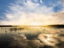 Sonnenaufgang in Angra DOS Reis Stockfotos