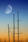 Sonnenaufgang auf dem Kanal Lizenzfreie Stockbilder