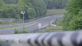 Sonnenaufgang auf der Autobahn stock video footage