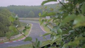 Sonnenaufgang auf der Autobahn stock footage