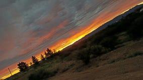 Sonnenaufgang auf der Seite lizenzfreies stockbild