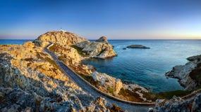 Sonnenaufgang auf Isula Rossa Lizenzfreies Stockbild