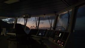 Sonnenaufgang auf Karibikinsel Offshoreleben lizenzfreie stockfotografie