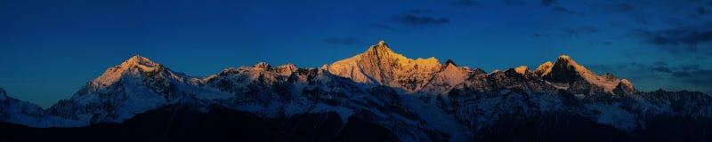 Sonnenaufgang auf Khabadgarbo Lizenzfreie Stockbilder