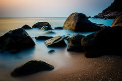 Sonnenaufgang auf Koh Tao Lizenzfreie Stockfotos