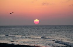 Sonnenaufgang auf Ostern stockbilder