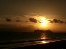 Sonnenaufgang auf puntarenas Lizenzfreies Stockbild