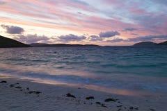 Sonnenaufgang auf Vatersay - äußeres Hebrides Lizenzfreies Stockbild