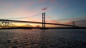 Sonnenaufgang auf weiter Stockbilder