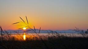 Sonnenaufgang an AuSable-Punkt Stockfotografie