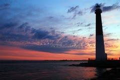 Sonnenaufgang an Barnegat-Licht Lizenzfreie Stockfotografie