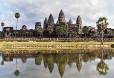 Sonnenaufgang bei Angkor Wat Stockfoto