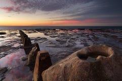 Sonnenaufgang bei Coledale Stockbild