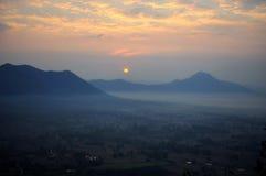 Sonnenaufgang bei Phu Tok Lizenzfreies Stockbild
