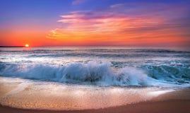 Sonnenaufgang bei Punta Cana Stockbilder