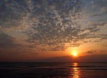 Sonnenaufgang bei Virginia Beach Stockfoto