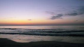 Sonnenaufgang beim Schwarzen Meer stock video