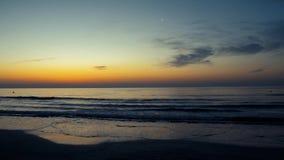 Sonnenaufgang beim Schwarzen Meer stock footage