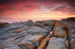 Sonnenaufgang Bingie Bingie Stockfoto