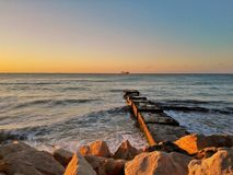 Sonnenaufgang Bulgarien Lizenzfreie Stockfotos