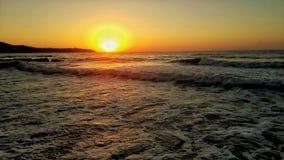 Sonnenaufgang Bulgarien stockfotografie