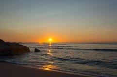 Sonnenaufgang in Cala-ginepro Lizenzfreie Stockbilder