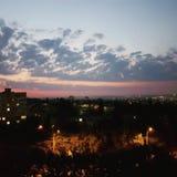Sonnenaufgang Chisinau Stockfotografie