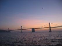 Sonnenaufgang an der Brücke Lizenzfreies Stockfoto