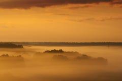 Sonnenaufgang des frühen Morgens Lizenzfreies Stockfoto