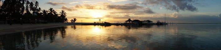 Sonnenaufgang Dominicana Lizenzfreies Stockfoto