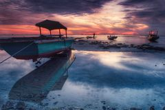 Sonnenaufgang-Farben Lizenzfreie Stockfotos