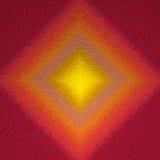 Sonnenaufgang farbiger abstrakter quadratischer Formhintergrund Stockbild