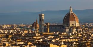 Sonnenaufgang in Florenz Stockfotos