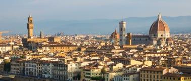 Sonnenaufgang in Florenz Lizenzfreie Stockfotografie