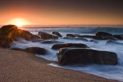 Sonnenaufgang-Gespür Stockbild