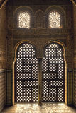 Sonnenaufgang am Harem Alhambra Spanien Stockfotos