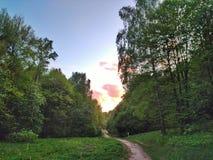 Sonnenaufgang heute morgen lizenzfreie stockfotos