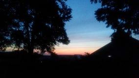 Sonnenaufgang heute morgen lizenzfreie stockfotografie