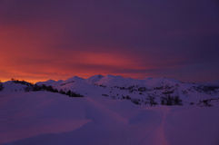 Sonnenaufgang II stockfoto