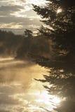 Sonnenaufgang im Adirondacks Stockfoto
