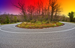 Sonnenaufgang im Apennines lizenzfreie stockfotografie