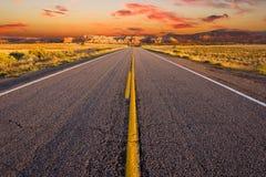 Sonnenaufgang im ländlichen Nordnew mexico lizenzfreie stockfotos