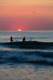 Sonnenaufgang im OC Stockfotos