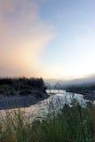 Sonnenaufgang im olympischen Nation-Park Stockfoto
