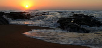 Sonnenaufgang im südlichen hemesphere Lizenzfreie Stockfotos